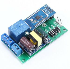 Dc 5v Bluetooth Control Relay Module 1 channel Ttl Serial Port Cycle Timier M8