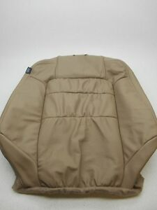New Oem Honda Accord 2 Door Coupe Right Leather Front Seat Upper Tan
