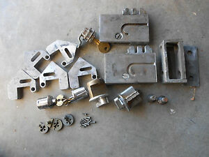 Lot Of Phelps Time Recording Lock Parts Locksmith