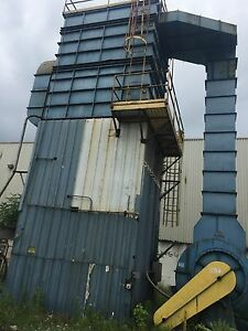 Knockums Dust Collector 25 000 Cfm 125 Hp Pulse Jet