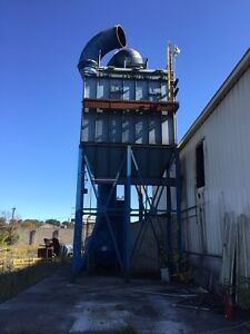 Dustex Dust Collector 15 000 Cfm 75 Hp Pulse Jet