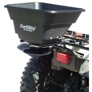 Earthway 12 volt 80 pound Atv mountable Broadcast Spreader M20