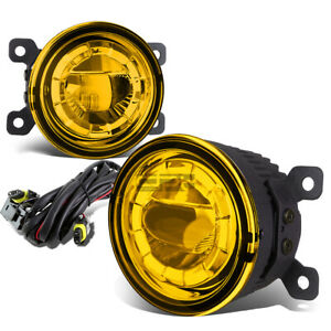 3 5 round Aluminum Housing Yellow 5w Highpower Led Driving Fog Light Lamp mount