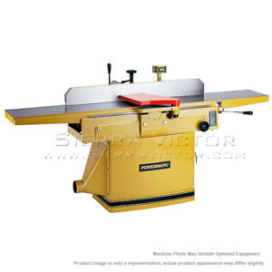 12 Powermatic 1285 Jointer With Helical Head 3ph