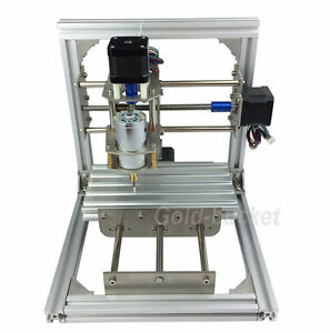 3 Axis Cnc Mini Milling Engraving Machine Diy Carving Image Picture Router Kit