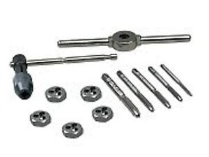 Irwin Tools Machine Screw With Fractional Tap And Die Set 12 piece 24605