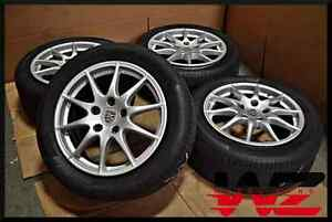 Complete Set Of Four 10 15 18 Porsche Panamera Wheels With Tires Factory Oem