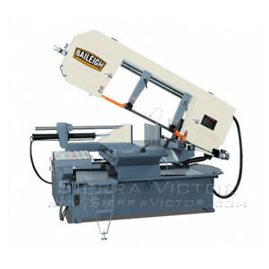 18 Baileigh Semi automatic Dual Mitering Band Saw Bs 24sa dm