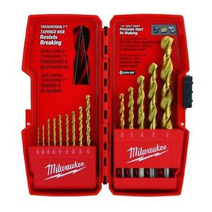 Milwaukee 48 89 0011 14 Piece Titanium Drill Bit Set