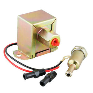 New 12v Low Pressure Universal Electric Fuel Pump With 12 Volt 2 4 Psi