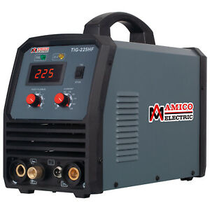 Tig 205 200 Amp Hf Start Tig Torch Arc Stick 2 in 1 Dc Welder 115 230v Welding