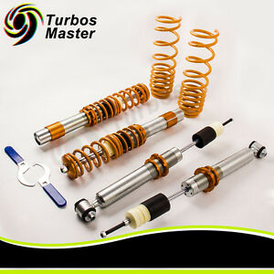 New Suspensions Adj Coilovers Kit For 97 03 Bmw E39 5 series Sedan 1995 2003