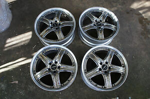 Jdm 19 Trd Wheels Rims Rays Japan Pcd114 3x5 Vellfire Lexus Is250 Gs400 Ls400