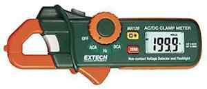 Extech Ma120 200 Ampere Ac dc Mini Clamp On Current Detector