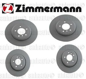 Bmw Brake Kit 530i 535i 550 645 650 Front Rear Zimmermann Brembo Kit
