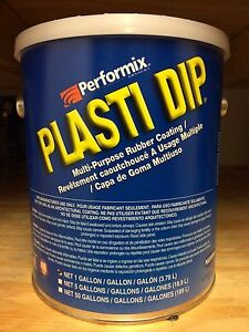 Performix Plasti Dip 1 Gallon Matte Gunmetal Gray Dip