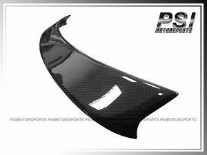 Carbon Front Trunk Spoiler Wing Lip For 2012 2015 Audi A6 C7 Sedan Oe Style Cf