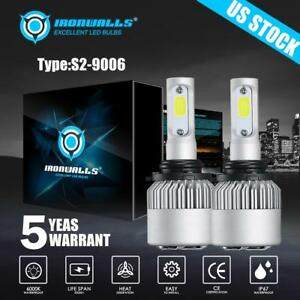 Cree 9006 Hb4 Led Headlight 1300w 195000lm Turbo Light Bulbs 6500k White Xenon