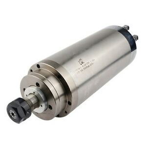 3 2kw 100mm High Speed Water Cooled Cnc Spindle Motor For Woodwork 220v