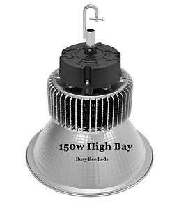 150w X 24pcs High Bay Led Light Wearhouse Pole Barn Shop Gym Office Garage