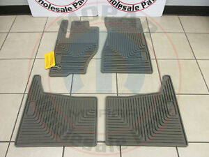 Jeep Grand Cherokee Commander Dark Khaki All weather Style Floor Mats Mopar