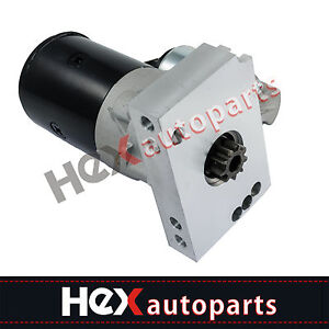 Mini Starter 3hp High Torque For Sbc Bbc Chevy Dual Inline 153 168 Tooth 305 350