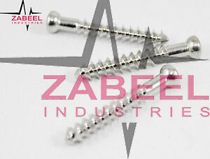 Cancellous Bone Screws 6 5mm thread Length 32mm 120pcs Orthopedics Instruments