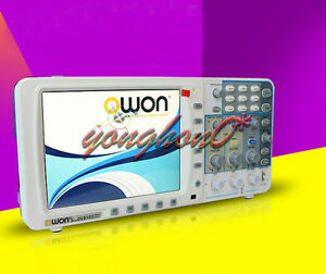 New Sds8102 Owon 100mhz Thin Digital Storage Oscilloscope 2g s 8 Lcd