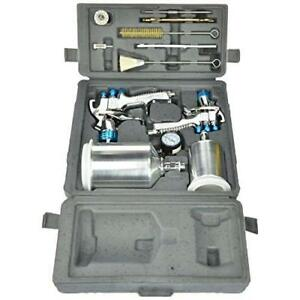 Devilbiss 802342 Startingline Hvlp Gravity Spray Gun Kit New
