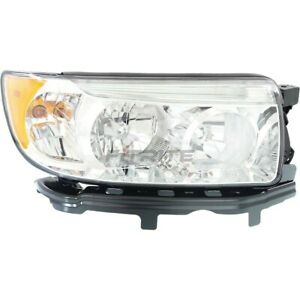 New Right Halogen Head Light Assembly For 2005 2008 Subaru Forester Su2503119