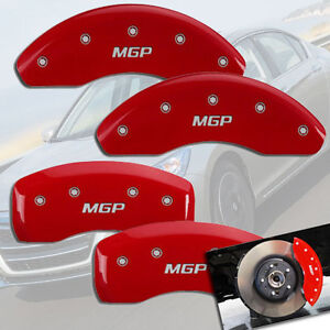 2004 2005 Honda Civic Si Front Rear Red Mgp Brake Disc Caliper Covers 4pc Set