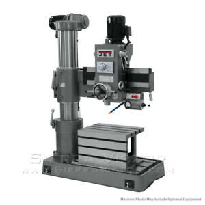 Jet J 720r Radial Drill Press 230 460v 320033