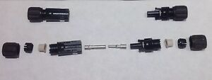 Amphenol Male Female Connector Lot 7 Sets