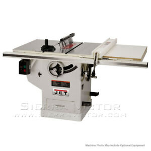 Jet Deluxe Xacta Table Saw With Rip Fence 708676pk 708677pk