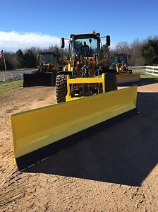 New 14 Super Duty Hydro turn Wheel Loader Snowplow For John Deere Jrb Volvo