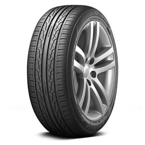 4 New 215 50r17 Hankook Ventus V2 H457 Tires 50 17 2155017 50r R17 Treadwear 500