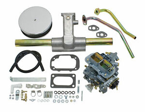 Empi Epc 38 Single Progressive Carburetor Kit For Vw Type 1 Vw Beetle