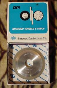 5 Profile Grinding Diamond Wheel 500 Grit 10 Degree