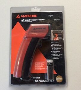 Amprobe Infared Thermometer With Laser Pointer Ir608a