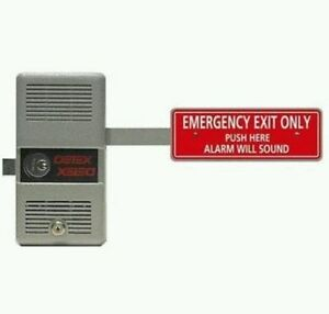 Detex Ecl 230d Exit Lock Alarm W Free Rim Cyl Factory Fresh Full Warrany