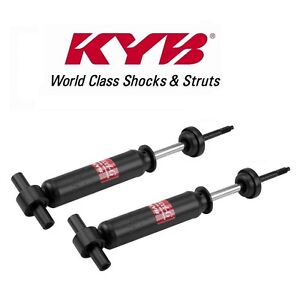 For Ford Pinto Mercury Bobcat Set Of 2 Front Shock Absorbers Kyb Excel g 343134