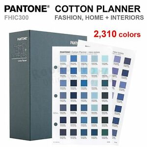 Pantone Fhic300 Fashion Home Interiors Cotton Planner 2 310 Colors New