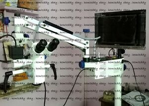 5 Step Dental Microscope Manual Focusing With Accessories Led Monitor