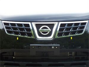 Fits 2008 2013 Nissan Rogue 4 door Suv stainless Steel Grille Accent