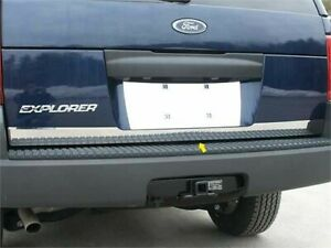 Fits 2002 2006 Ford Explorer 4 Door Suv Lower Stainless Steel Rear Deck