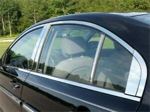 Fits 2006 2011 Hyundai Accent 4 door stainless Steel Window Package