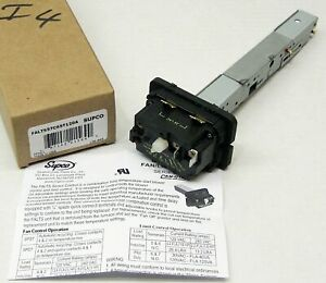 Cam stat Supco Falts57c65t120 Furnace Fan Limit Time Delay Control Switch ff561