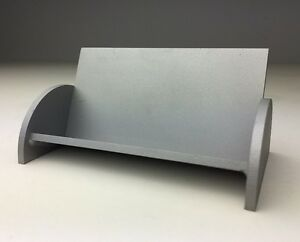 Custom Hand Made Steel Business Card Holder opt Finish Avail