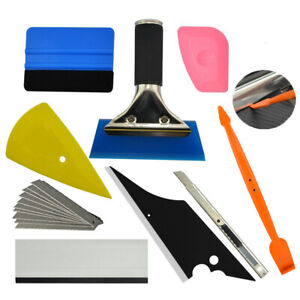 7in1 Car Wrapping Tools Kit Turbo Squeegee For Sticker Window Tint Install Usa