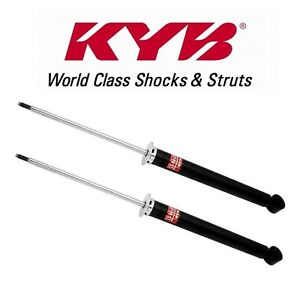 For Chevy Cruze Volt Set Of 2 Rear Shock Absorbers Kyb Excel G 348032